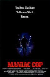 Maniac Cop Poster 2