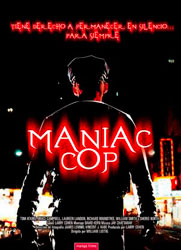 Maniac Cop Poster 3
