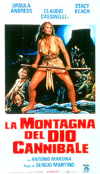 Mountain Of The Cannibal God Poster 2