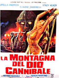 Mountain Of The Cannibal God Poster 3