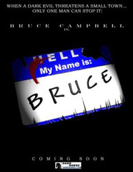 My Name Is Bruce Poster 2