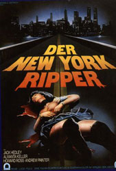 The New York Ripper Poster 4