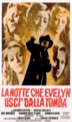 The Night Evelyn Came Out of the Grave Poster 1