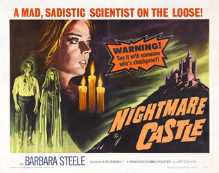 Nightmare Castle Poster 1