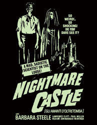 Nightmare Castle Poster 2