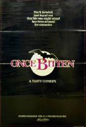 Once Bitten Poster 1