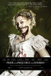 Pride and Prejudice and Zombies Poster 1