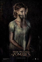 Pride and Prejudice and Zombies Poster 2