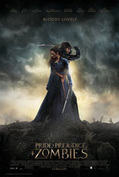 Pride and Prejudice and Zombies Poster 3