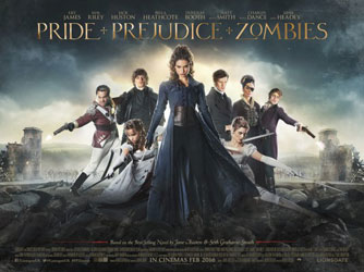 Pride and Prejudice and Zombies Poster 4