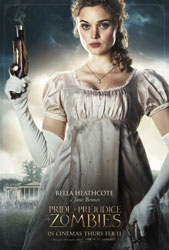 Pride and Prejudice and Zombies Poster 7