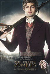 Pride and Prejudice and Zombies Poster 8