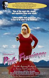 Pink Flamingos Poster 1