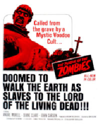 The Plague Of The Zombies Poster 1