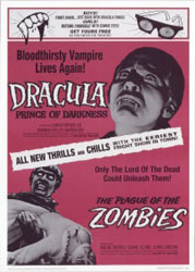The Plague Of The Zombies Poster 2
