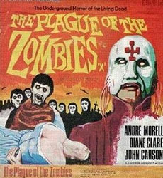 The Plague Of The Zombies Poster 3