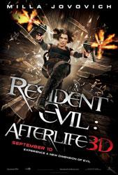 Resident Evil: Afterlife Poster 2
