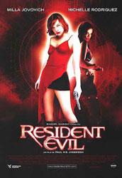 Resident Evil Poster 3