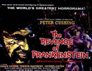 The Revenge Of Frankenstein Poster 1