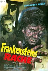 The Revenge Of Frankenstein Poster 2