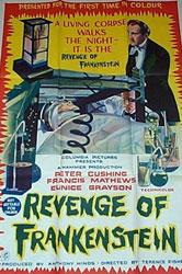 The Revenge Of Frankenstein Poster 3