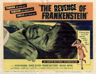 The Revenge Of Frankenstein Poster 4