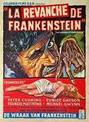 The Revenge Of Frankenstein Poster 5
