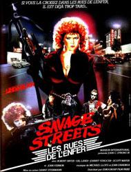 Savage Streets Poster 2