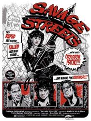Savage Streets Poster 4