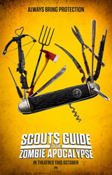 Scouts Guide to the Zombie Apocalypse Poster 2