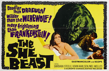The She Beast Poster 2