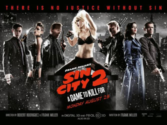 Sin City: A Dame to Kill For Poster 1