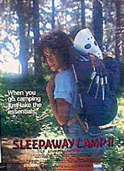 Sleepaway Camp II: Unhappy Campers Poster