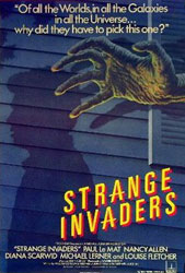 Strange Invaders Poster 1