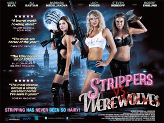Strippers vs Werewolves Poster 1