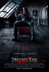Sweeney Todd: The Demon Barber of Fleet Street Poster 1