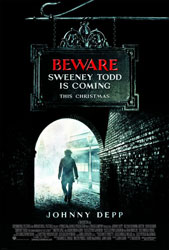 Sweeney Todd: The Demon Barber of Fleet Street Poster 2