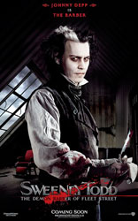 Sweeney Todd: The Demon Barber of Fleet Street Poster 6