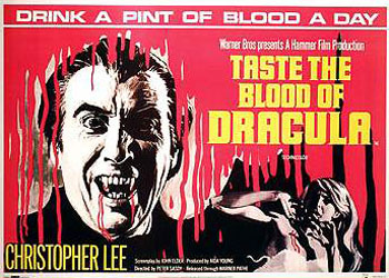 Taste the Blood of Dracula Poster 1