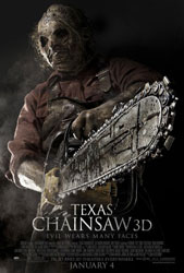 Texas Chainsaw 3D Poster 2