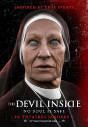 The Devil Inside Poster 1