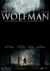 The Wolfman Poster 2