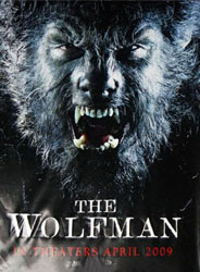 The Wolfman Poster 3