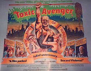 The Toxic Avenger Poster 3