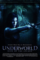 Underworld: Rise of the Lycans Poster 2