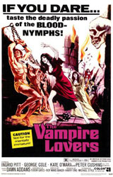 The Vampire Lovers Poster 1