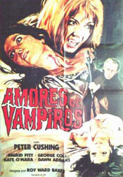 The Vampire Lovers Poster 2