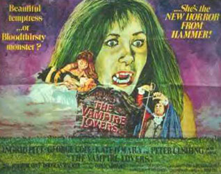 The Vampire Lovers Poster 6