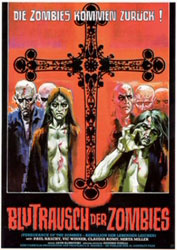 Vengeance of the Zombies Poster 3