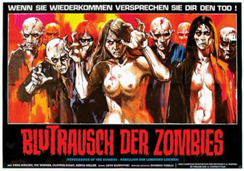 Vengeance of the Zombies Poster 4